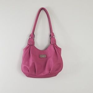 Rosetti Pink Leather Hand Bag